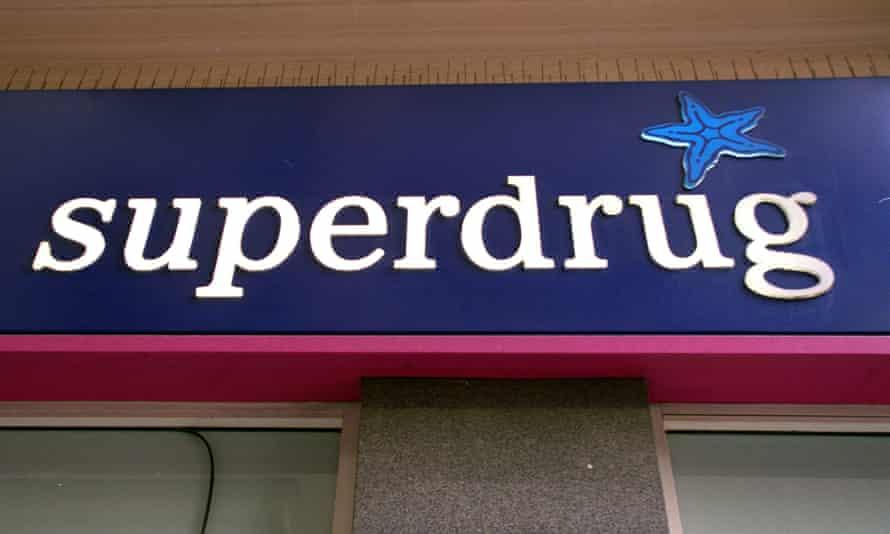 A Superdrug shop