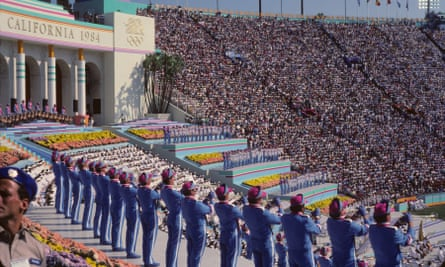 Los Angeles last hosted the Games in 1984