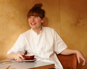 Rosie Healey, head chef and co-owner of Alchemilla in Glasgow