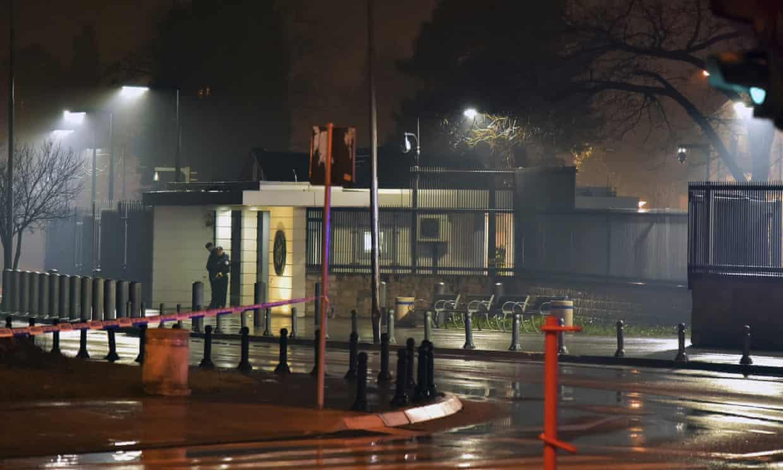 Man dies in grenade attack on US embassy in Montenegro (theguardian.com)