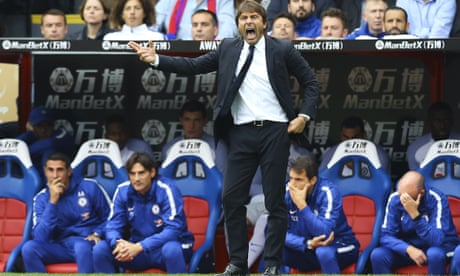 Unhappy Antonio Conte questions Chelsea's ability to defend their title