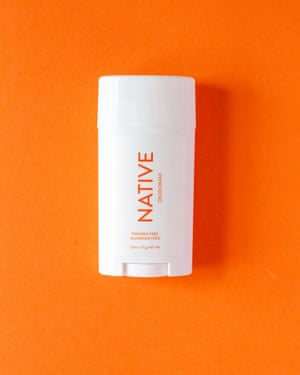 Native's natural deodorant