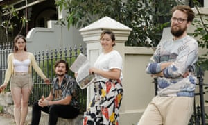 Sydney neighbours doing the weekend quiz