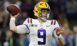 Joe Burrow will be one of the leading figures in this year's draft