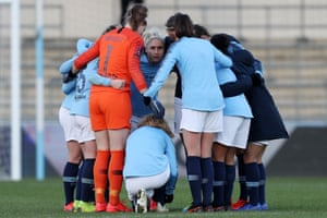 Steph Houghton and the City team.