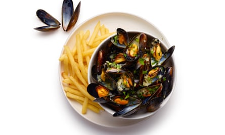 Perfect ... Felicity Cloake's moules frites.