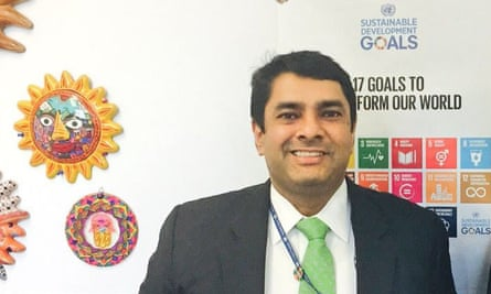 Ravi Karkara, pictured on 15 February 2017 at a UN Women event.