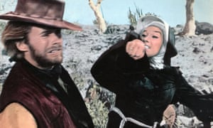 Shirley MacLaine and Clint Eastwood in Two Mules for Sister Sara