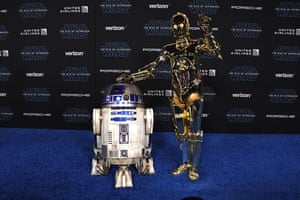R2-D2 and C-3PO.