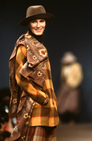More plaid and florals, from Kenzo's autumn-winter 1984 show