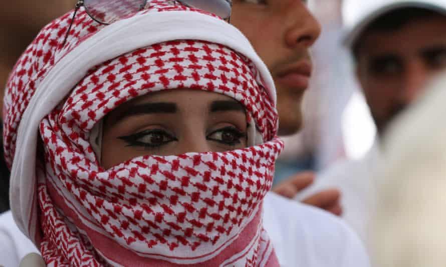 Jordanian woman in Amman