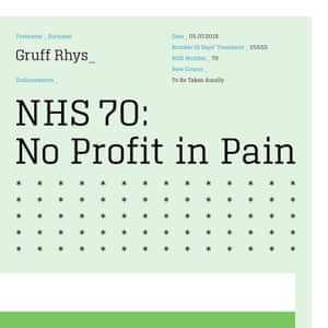 The artwork for No Profit in Pain.