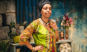 Grace and power … Adjoa Andoh in Assata Taught Me.