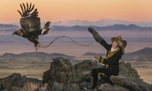 Aisholpan Nurgaiv in The Eagle Huntress.