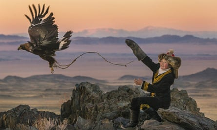 Aisholpan Nurgaiv in The Eagle Huntress.