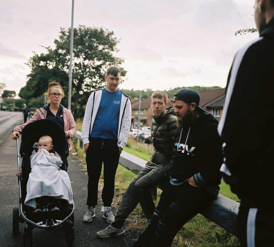 The weekly Men Matter family walk