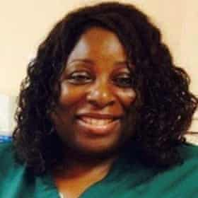 Healthcare worker Donna Campbell.