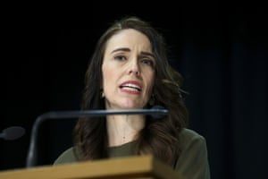 New Zealand's prime minister Jacinda Ardern speaks to media during a press conference on 17 August, 2020 in Wellington, New Zealand.
