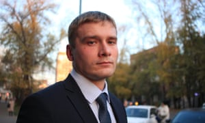 Valentin Konovalov, the communist party candidate in Abakan, the capital of Khakassia.