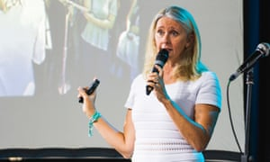 Tracey Spicer talks about the 'systemic sexual harassment' in the Australian media industry, at the Woodford Folk Festival.
