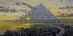 The Shimizu Mega-City Pyramid.