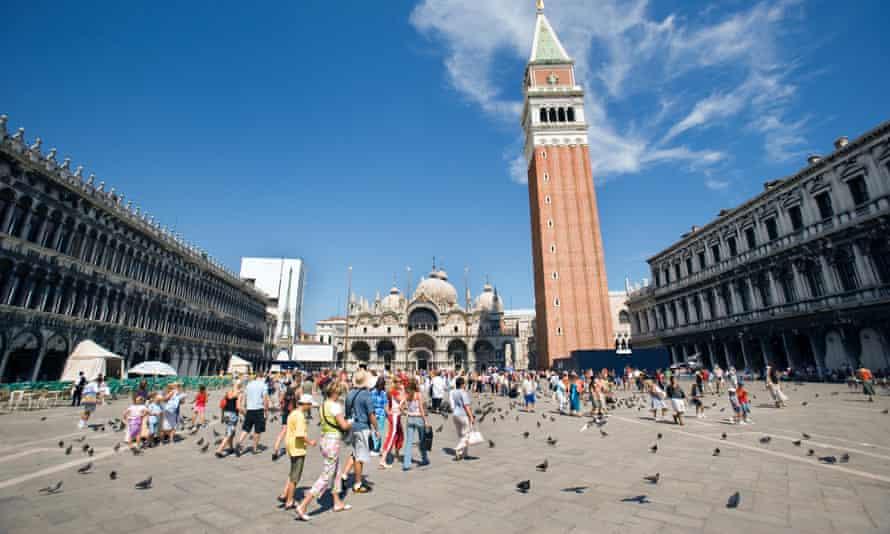 St Mark's Square, Venice.