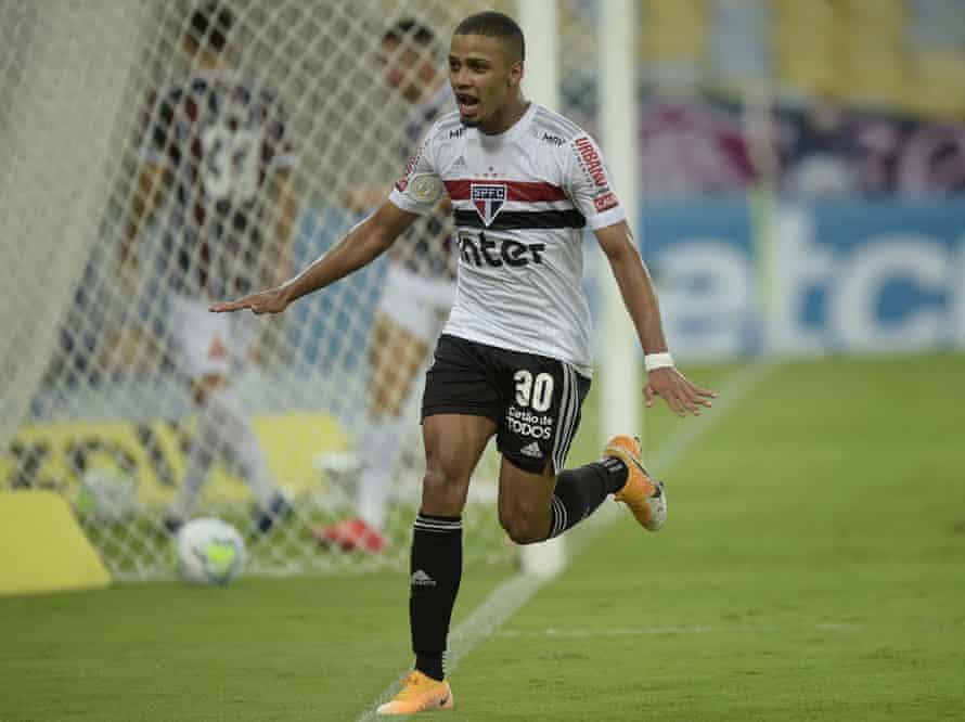 Brenner has moved from São Paulo to FC Cincinnati.