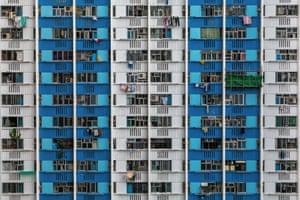 Ping Shek Estate. Wong Tai Sin, Kowloon.
