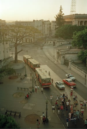 Bus Stop March, Havana, Cuba, 1992