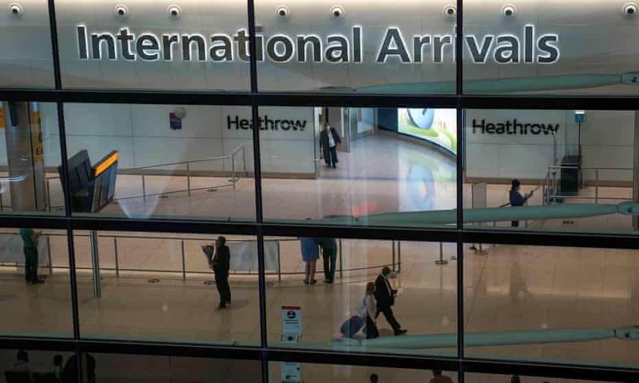 heathrow international arrivals hall