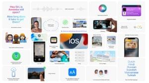 Fitur baru datang ke iOS 15.