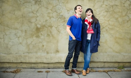 Jessica Pan and her husband Ian