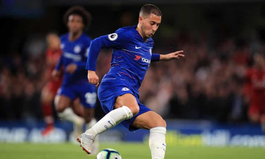Eden Hazard has been in exceptional form under Sarri.