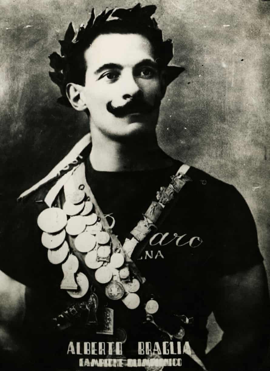 Alberto Braglia, an Italian gymnast who won gold medals at the 1908 and 1912 Olympics.