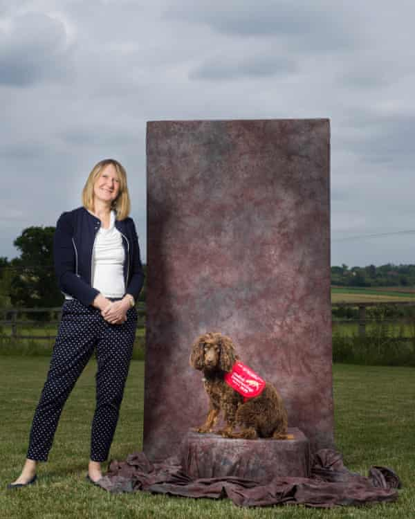 'So far there's never been a disease we can't find': Dr Claire Guest with Asher.