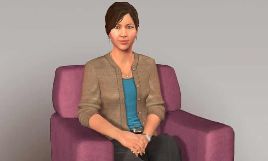Ellie, a machine that can spot depression