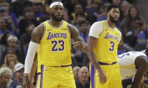 LeBron James's Lakers are due to play two games in China this week but they may be called off.