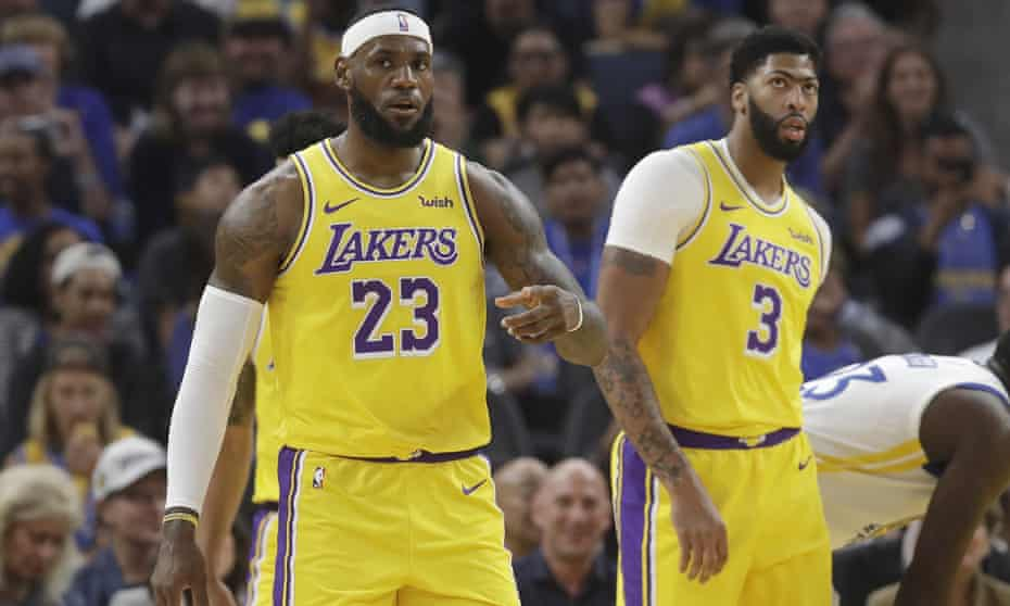LeBron James and Anthony Davis are both with the Lakers this season – and are both MVP candidates