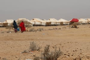 Thousands of Yemenis have fled across the Gulf of Aden to Djibouti in the Horn of Africa. The refugee camp in Obock hosts hundreds of families but the environment is harsh, with temperatures reaching up to 50C during summer