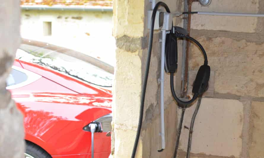 charging a model s from 13amp plug