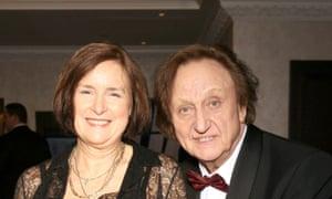 Ken Dodd and his wife Anne Jones