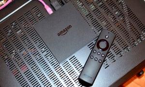 Amazon Fire TV box et télécommande