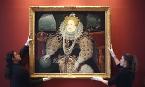 The Armada portrait of Elizabeth I reinstalledin Inigo Jones's Queen's House in Greenwich. It will be joined by the other two versions for the first time