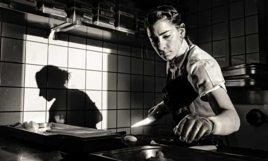 Caitlin Koehler shot at Relae in Copenhagen by Per-Anders Jorgensen for Observer Food Monthly