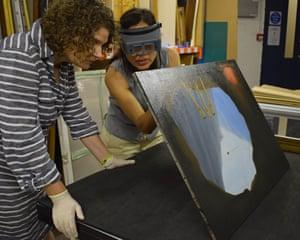 Giorgia Bottinelli and Alice Tavares da Silva examine The Human Condition.