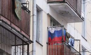 Balconies of a Krushchevka