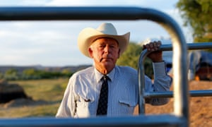 Cliven Bundy on his ranch in Bunkerville, Nevada. The Bundys have become heroes in the American west and in rightwing militia movements.