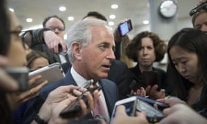 Bob Corker said: 'We need a better understanding of the path to resolve the current dispute and reunify the GCC.'