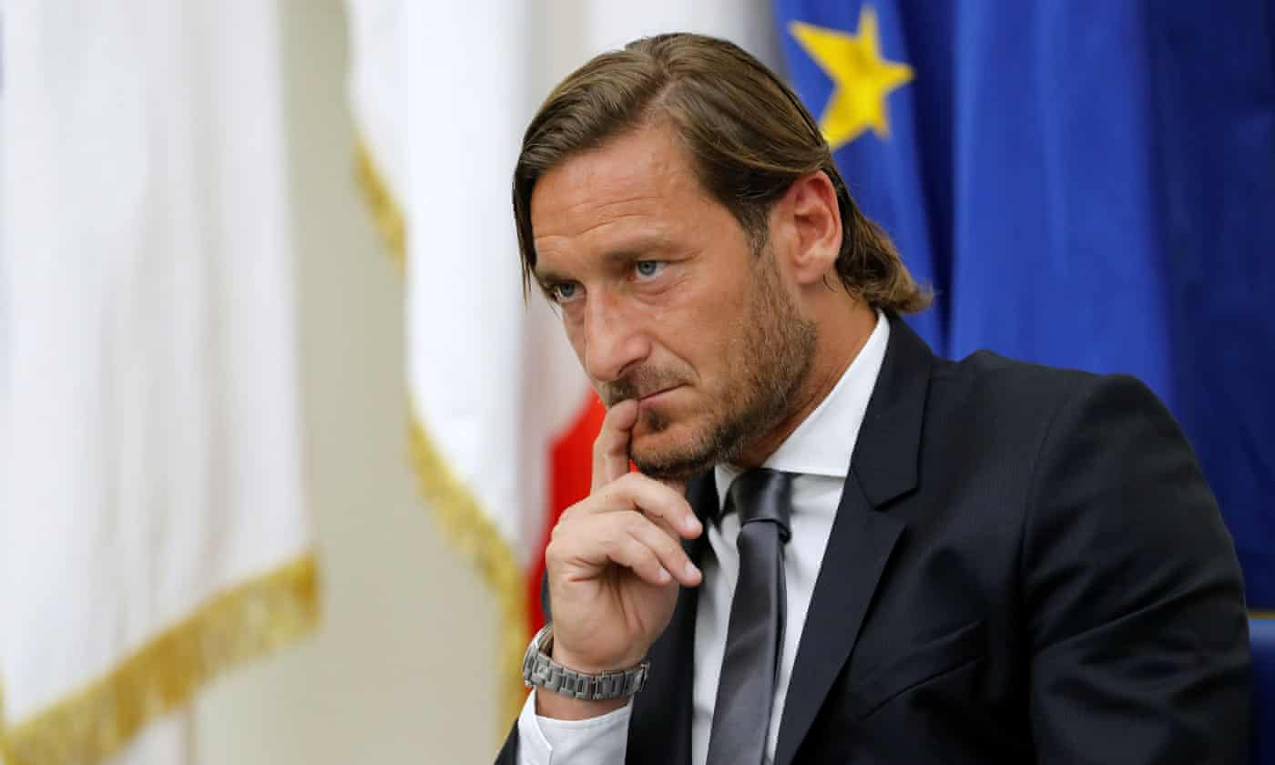 Francesco Totti hits out at Roma hierarchy as he leaves club after 30 years
