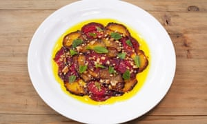 'The best plate of the stuff I have eaten in years': beetroot carpaccio.